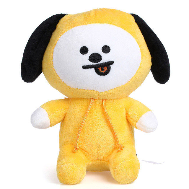 484652a5e2ee Baby Kids Cute 22cm Kpop BTS Plush Pillow Toy Bt21 Warm Bolster TATA VAN  CHIMMY COOKY MANG KOYA Cushion Plush Doll Toys