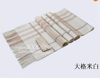 2019 Top Gift 100% High Quality Cashmere Scarf Man And Women Big Plaid Scarf B-258