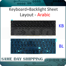 Keyboard Macbook Arabian A1706 W/backlight New for Pro Retina A1706/Arabic/Arab/Arabian