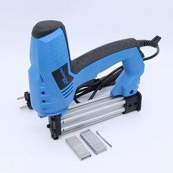 200V-240V Elektrische Tacker 2 In 1 Brad Nagler & Hefter Elektrische Nagel Power Werkzeug mit 500 stücke nägel für holz möbel