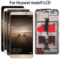 5.9'' Full LCD DIsplay + Touch Screen Digitizer Assembly Replacement For Huawei Mate 9 Mate9 MT9 MHA L09 MHA L29 MHA AL00+tools