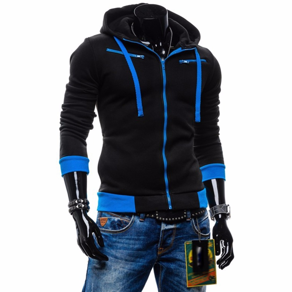 Men Hoodies 2018 Casual Hoodies Men Fleece Fashion Hip Hop Warm Hoody Mens Hoody Jacket Sweatshirt Mens Sweat Homme