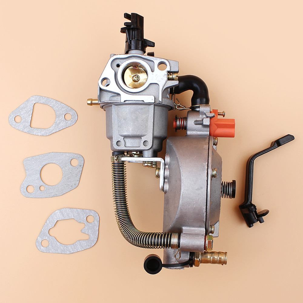 CARBURETOR CONVERSION KIT FOR HONDA GX160 168F EC2500 C/CL /CX SERIES GENERATOR GENSET GASOLINE/LPG/CNG DUAL FUEL uxcell generator dual fuel carburetor carb lpg ng conversion kit 2kw gx160 gx200 168f 170f manual metal generators accessorie