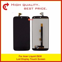High Qulity 5.5 For Acer Liquid Z630 LCD Display With Touch Screen Digitizer Sensor Panel Free Shipping