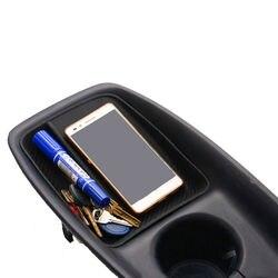 Taca konsoli środkowej z włókna węglowego do przechowywania Toyota Prius XW50 2015 17 w Markizy i zadaszenia od Samochody i motocykle na