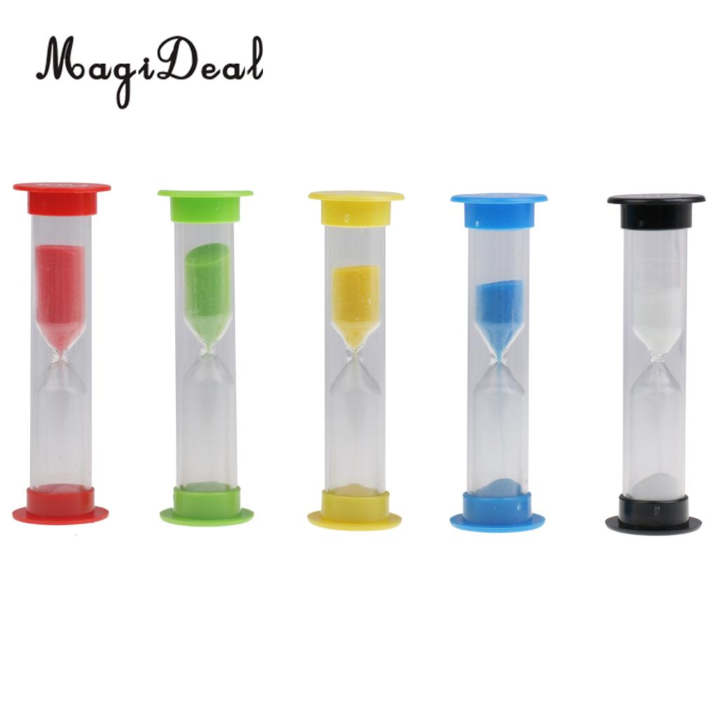 magideal 5 set 30 seconds u00261 3 5 10 minutes sandglass