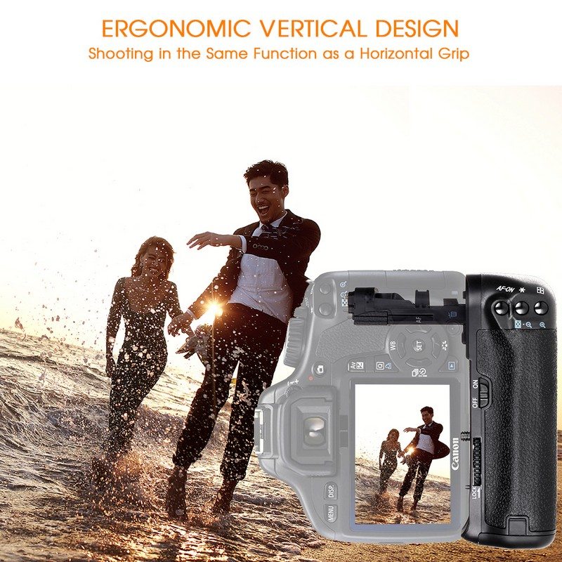 Canon 60D 60Da DSLR Kamera Dəyişdirmə BG-E9 üçün LP-E6 - Kamera və foto - Fotoqrafiya 2