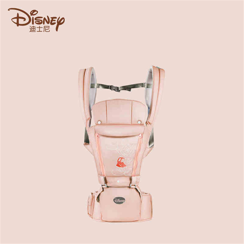 Disney Waist Stool Holding Stool Mickey Minnie Cartoon Printing Front Hug Multifunctional Baby Carrier Breathable Fabric SZZ085