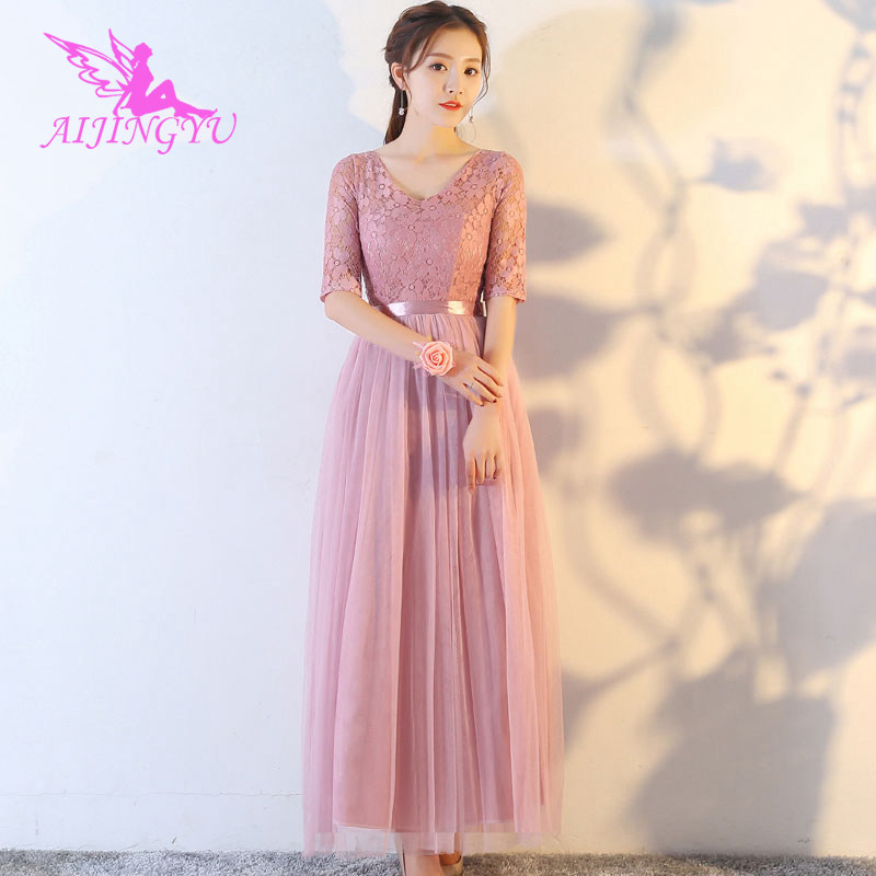2018 sexy   bridesmaid     dress   wedding guest formal   dresses   BN143