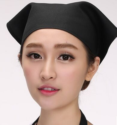 Chinese Waiter Head Wear Waiter Headscarf Restaurant Uniform Headscarf