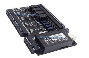 Image 2 - Kontrola dostępu do drzwi na bazie IP Panel TCP IP i RS485 zk c3 400 wbudowany pomocniczy kontroler wejścia i wyjścia z czterema drzwiami