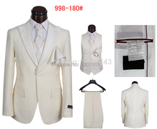 Hot Selling Mens Brand Suits New Stylish 5 Piece Formal Suits Designer Dress Tuxedo Suits For Men SIZE S-5XL New 2014