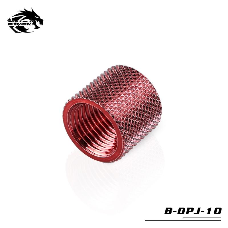 Bykski 15 мм расширитель алмаз двойной женский фитинг резьба G1/4 B-DPJ-10 - Цвет лезвия: Red