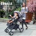 COBALLE 808 Bebê carrinho de Bebê carrinho de criança Dobrável frete grátis