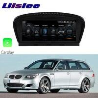 LiisLee Car Multimedia GPS Audio Hi Fi Radio Stereo For BMW 5 Series M5 E60 E61 2003~2007 Original CCC Style Navigation NAVI