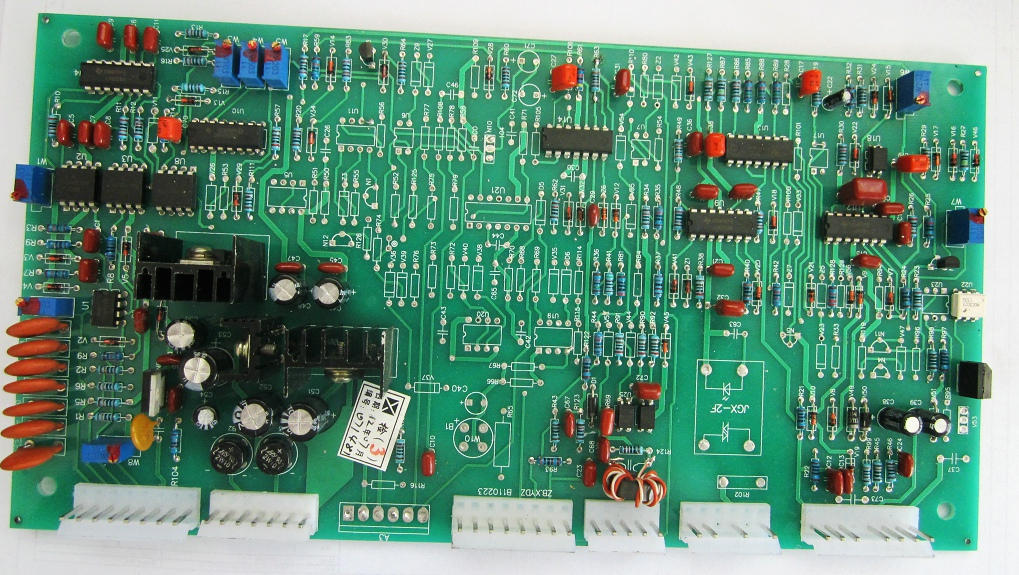 The Sun ZX7 IGBT Inverter Manual Welder Control Main Control Board Circuit Board Welding Machine zx7 250s single tube igbt double voltage dc welding inverter upper board control board circuit board maintenance replacement