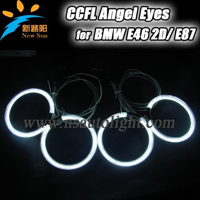 27 34 4x105mm Anillos Ccfl Para Bmw E46 2d Blanco Azul Amarillo Rojo Naranja E46 Ccfl Angel Eyes De Halo Ccfl Para La Decoracion Del Coche