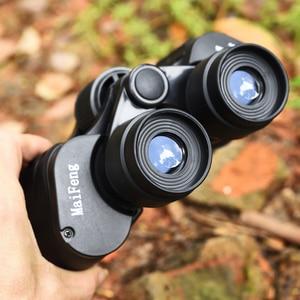 Image 5 - Binoculares prismáticos profesionales Hd, telescopio potente 20x50, visión nocturna, Lll, Prisma BAK4, para acampar, cazar, Concierto