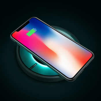 10W Fast Qi Wireless Charger NILLKIN for iPhone X/XS/XR/8/8 Plus for Samsung Note 10/S10 qi wireless charger portable For Mi 9