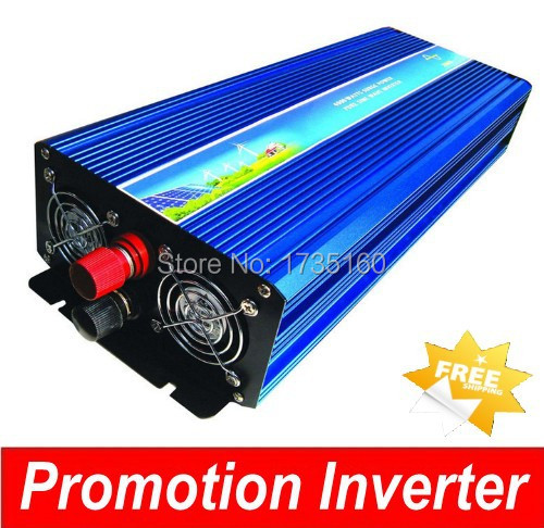 2500 Watt 2500W Pure Sine Wave Power Invertor Converter 24V DC to 230V AC 2500w vindur rafall Inverter