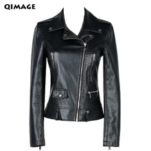 Women Leather Jackets 2017 New Ladies Red leather Jackets And Coat Plus Size 4XL Female PU Leather Slim Clothing Outerwear