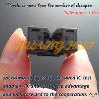 IC TEST MSOP8 test socket 626-1082211 ic test socket MSOP8 Pitch=0.65mm