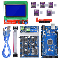 Ramps 1 6 Board Upgrade Base On Ramps 1 4 1 5 Mega 2560 R3 Reprap