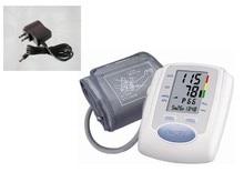 Free shipping Arm Digital Blood Pressure Monitor+AC power Adaptor blood pressure monitors
