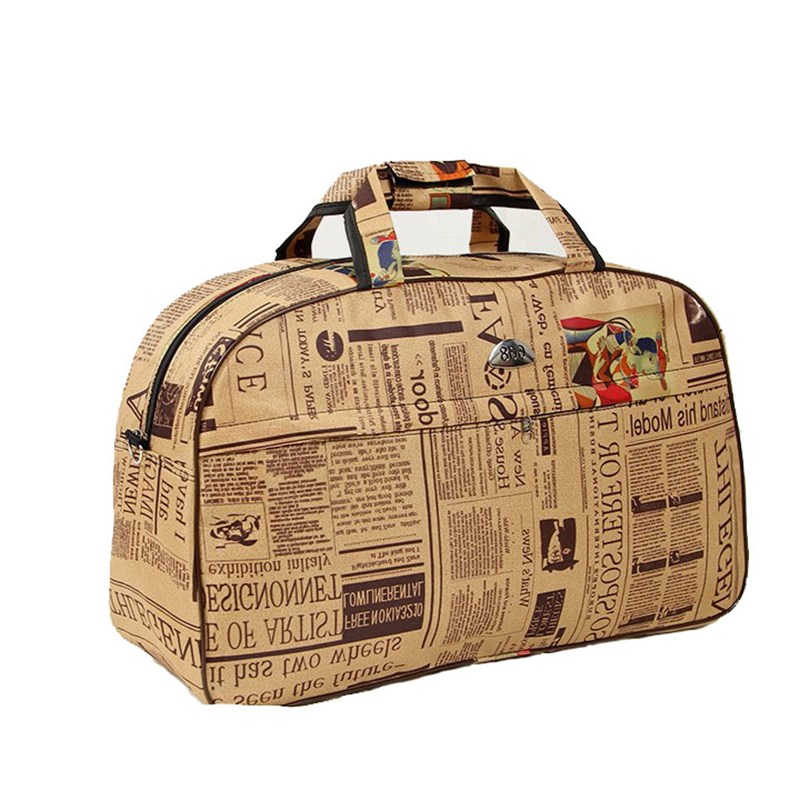 Жени водоустойчив найлон бизнес пътуване кратко пътуване чанти мъже организатор Duffel голяма чанта дамски твърди уикенд багаж пакет