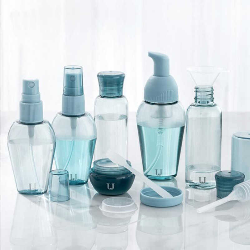 Travel Bottle Spray Bottle Cosmetic Moisture Water Container Set
