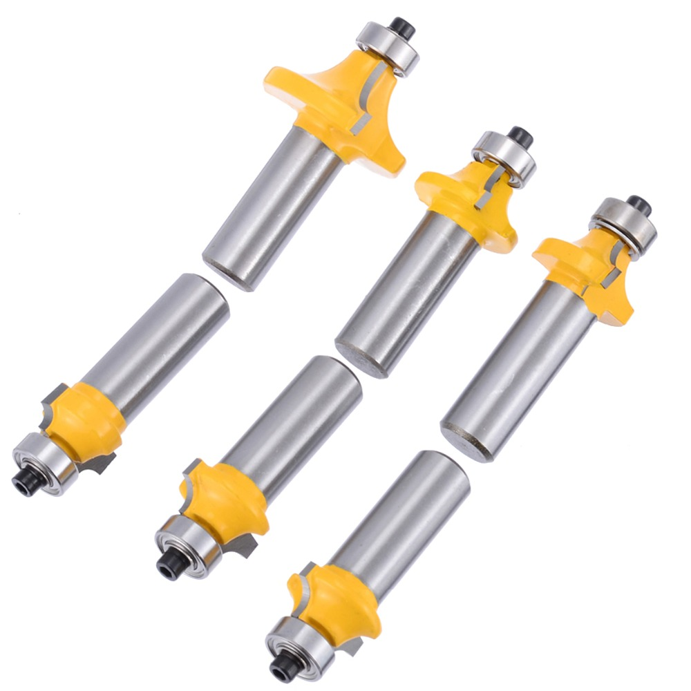 6Pcs Round Over Router Bit 1/2