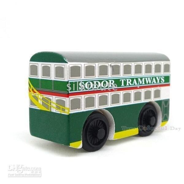 Engine Wooden Railway Train NEW kids game gifts FLORA_S_TRAM -Thomas Tank