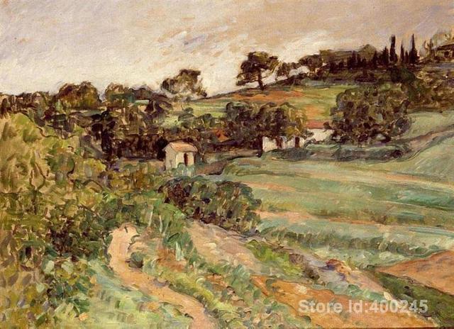Best art riproduzione paesaggio in provenza paul cezanne quadri in ...