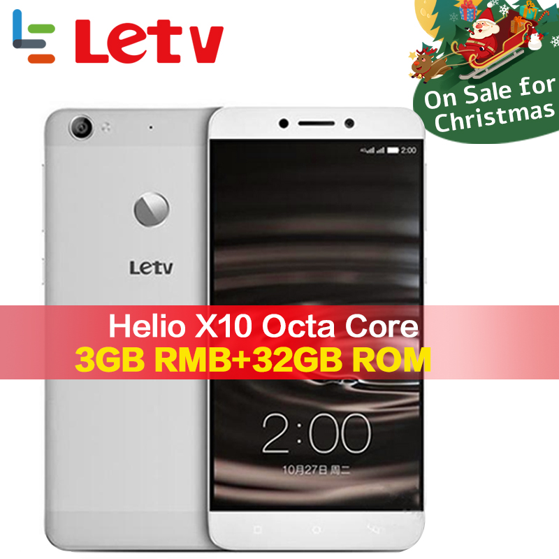Original Letv Le 1 s X500 4g handy 3g RAM 32g ROM Android 5.0 Octa Core 5,5 ''16MP FingerPrint ID Android Smartphone