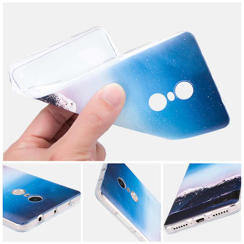 ل Asus Zenfone 4 ماكس ZC554KL لينة السيليكون حالة حماية الهاتف غطاء إلكتروني تصميم ل 4 ماكس ZC554KL واضح TPU قذائف