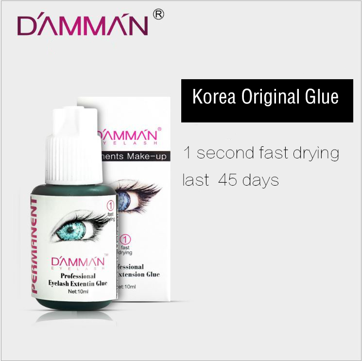 DAMMAN Grafting eyelash glue quick-drying low odor lasting 45 days sticky planting eyelash glue eyelash extension glue