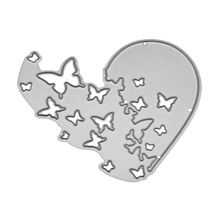 Heart Butterfly Metal Cutting Dies for Card Making