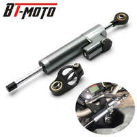 Universal Aluminum Motorcycle Damper Steering Stabilize Safety Control For Kawasaki Z300 Z250 Ninja 300R 250R ER6N EX300