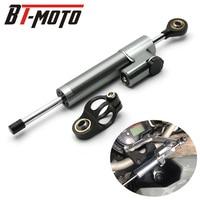 Universal Aluminum Motorcycle Damper Steering Stabilize Safety Control For Kawasaki Z300 Z250 Ninja 300R 250R ER6N EX300