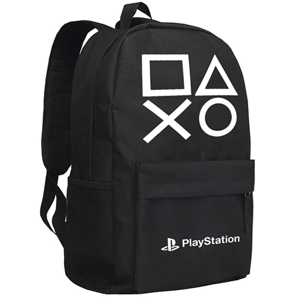 Play Station Backpack Men Black Daypack Oxford Shoulder Bag for Adults mma backpack box ing shoulder ufc memory gifts daypack for friends