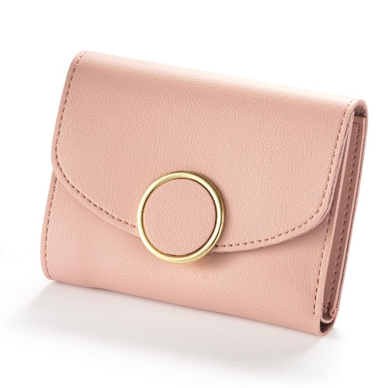 2018 New Fashion Women Wallet Female Purse Leather Small Wallets Women Coin Purse Money Bag Lady Credit Card Holder WWS051 new 2017 pink hollow leaf short wallet women wallets small purse for girls credit id card holder money coin bag christmas gifts