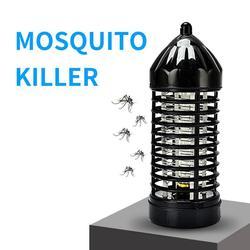 Elektryczna lampa zabijająca komary LED wyciszona bezpromieniowa mucha lampa owadobójcza wtyczką amerykańską w Lampy na komary od Lampy i oświetlenie na