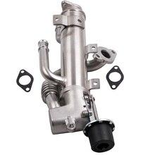 Refrigerador EGR Válvula de Recirculação Dos Gases de Escape PARA Audi A6 C6 4F5 BNA A4 B7 BRF Audi 2.0 TDI 2.0 TDI BRE 03G131512 AL AK AC AJ