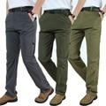 Afs Jeep Marca Térmica Transpirable Pantalones Impermeables Pantalones Militares Hombres Deportes Pantalones Rompevientos Hombres 3XL 4XL Pan056