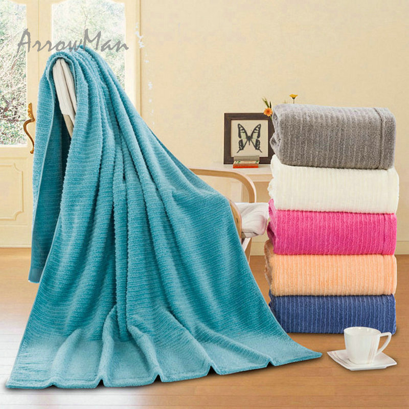 Extra Large Size 100% Cotton Thickness Bath Towel 90*180cm
