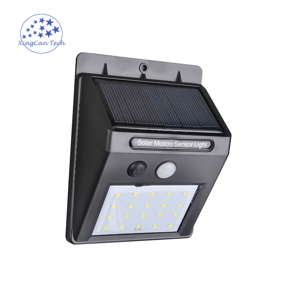 LED Solar Lamp Waterproof 2835smd 20led Solar Light Powered Garden LED Solar Light Outdoor 30LEDS ABS Wall Lamp Stairs Lights led solar lamp waterproof ip65 20led solar light powered garden led solar light outdoor abs wall lamp stairs lights
