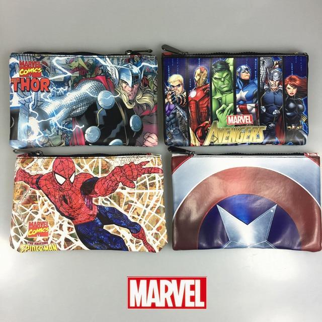 Пенал Герои Марвел и DS Comics в ассортименте 1