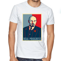 Sovyetler Birliği Great Komünist Lenin Che Guevara Martin Luther kral DIY T Shirt kadın CCCP Hipster kısa kollu Tees Tops