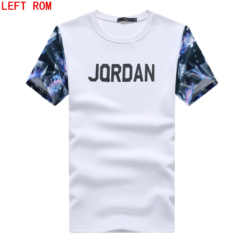 2017 Summer Printed T-shirts Compression Mens Leisure cultivate ones morality Show thin Short 3 d printing T-shirt sleeves