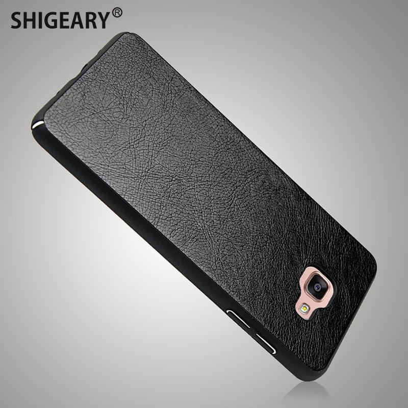 Shigeary чехол для Samsung Galaxy A5 2017 чехол для Galaxy A5 2016 крышка элегантные кожаные + PC Чехол для Samsung a510 A520 Fundas